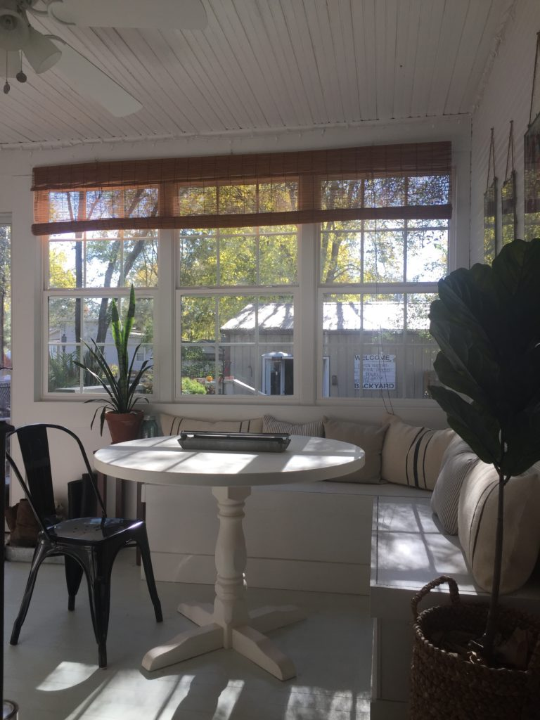 Sunroom Shines Diy Breakfast Nook Benches Midcounty Journal